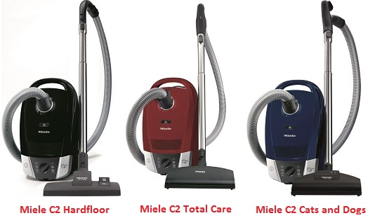 Aspirateur Miele C2 Hardflor Total Care Cats and Dogs