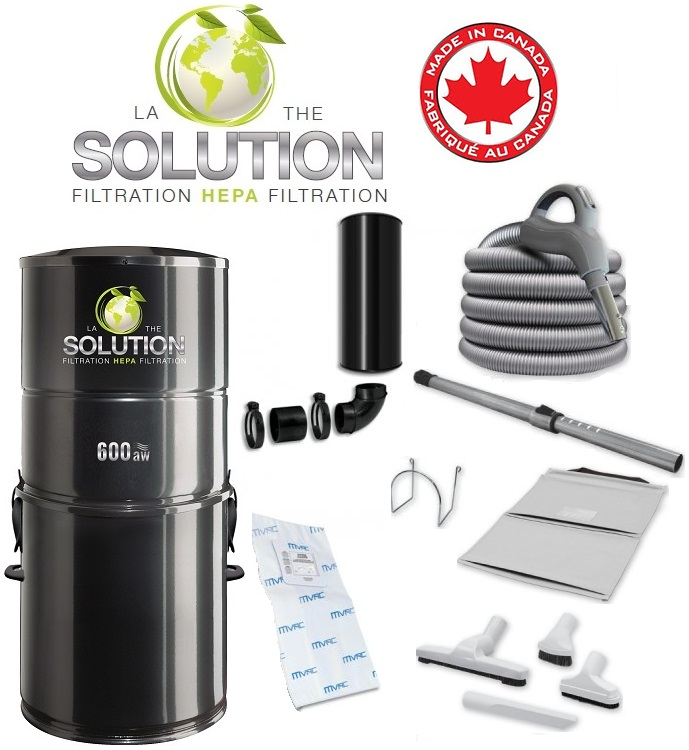 aspirateur central solution 600 kit